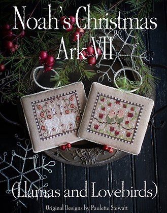 Noah's Christmas Ark VII by Plum Street Samplers