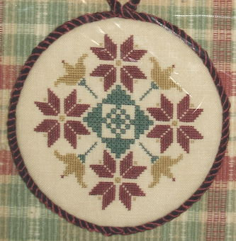 Quaker Motif Ornament by The Samplar Workes
