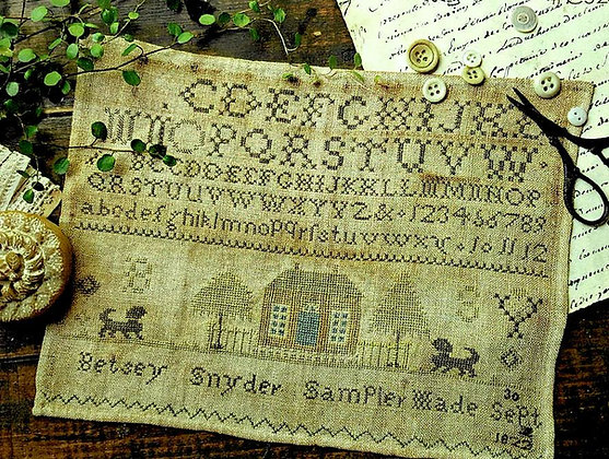 *Betsey Snyder 1822 by With Thy Needle & Thread