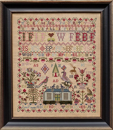 Jane Fiddes 1835 by Hands Across the Sea Sampler