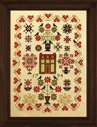 Librarian's House by Stone Street Stitchworks
