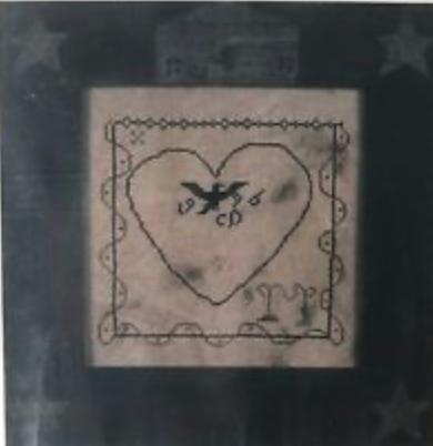 CATS Blackheart Sampler by Little by Little