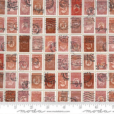 RED STAMPS Flea Market Fresh by Cathe Holden/MODA