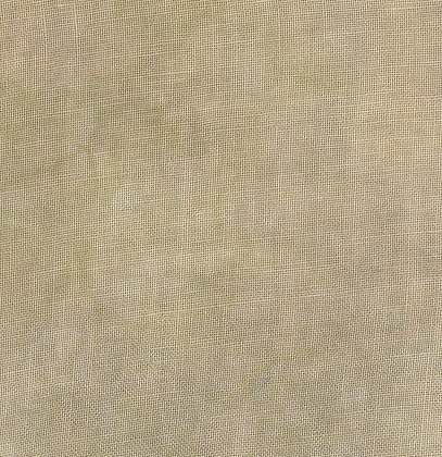 36 Count Affogato Fat Quarter Hand-Dyed Linen by Fiber on a Whi
