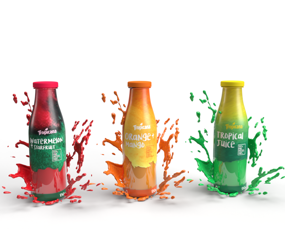 Tropicana Packaging Rebrand