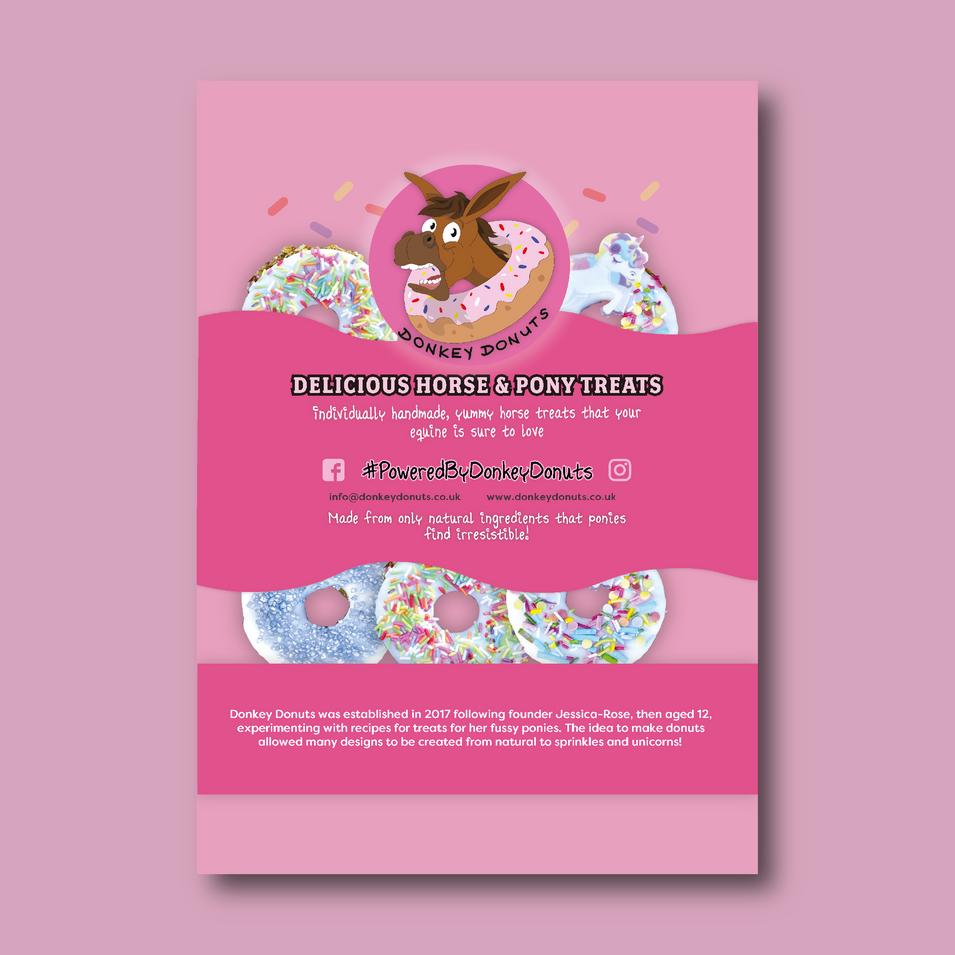 Donkey Donuts Poster