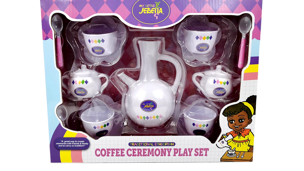 Coffee Ceremony Play Set