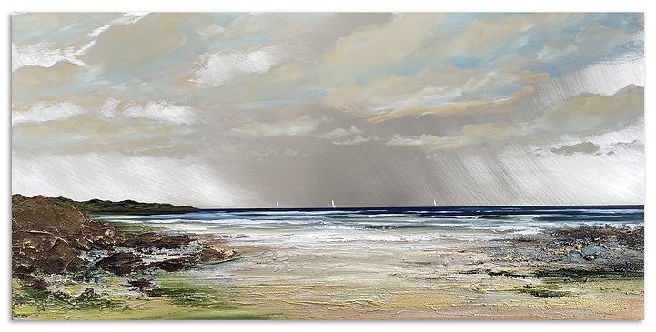 'Late Summer Afternoon', 50x100cm, mixed media on aluminium, £2200–1.jpg