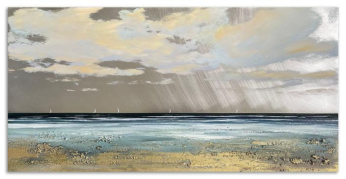 'A Day of Joy., 50x100cm, mixed media on aluminium, £2200_1.jpg