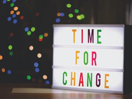 Ch-ch-changes ...
