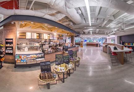 Starbucks. Delta Headquarters, Foodservice Design, Buid, construction