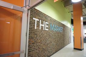 Brick Wall Entrance