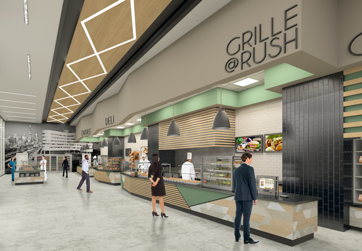 Rush University Medical Center Cafe