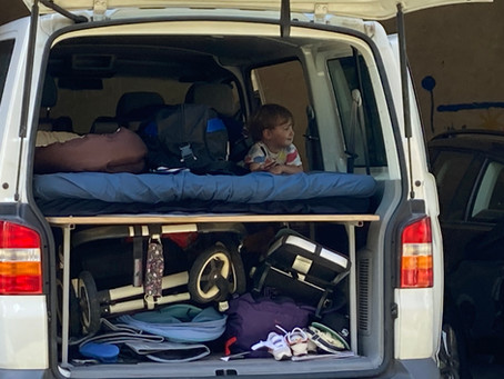 Packen für vier Monate