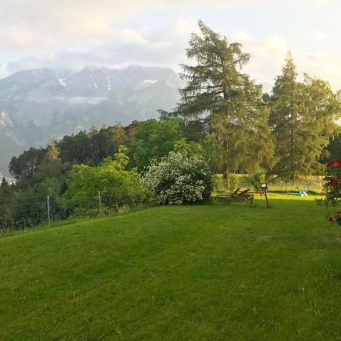 Karwendelblick Frühjahr