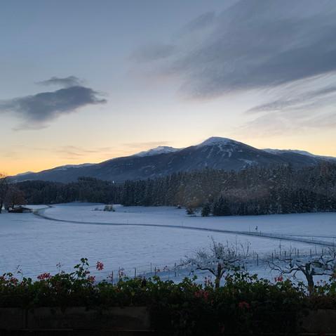 Winterpanorama Patscherkofel