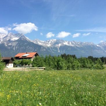 Bergpanorama Nordkette Innsbruck