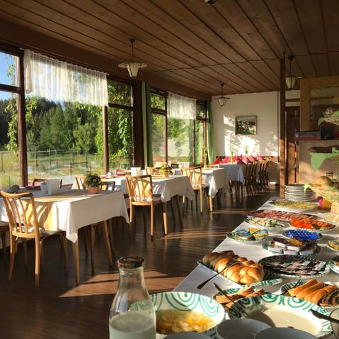 Frühstücksbuffet Sommer