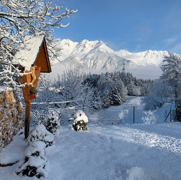 Winter Kreuz Schnee