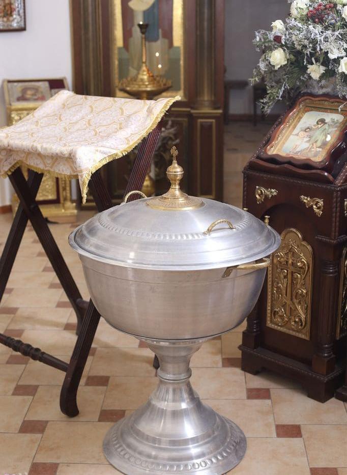 Фото, видеосъемка крещения в церкви