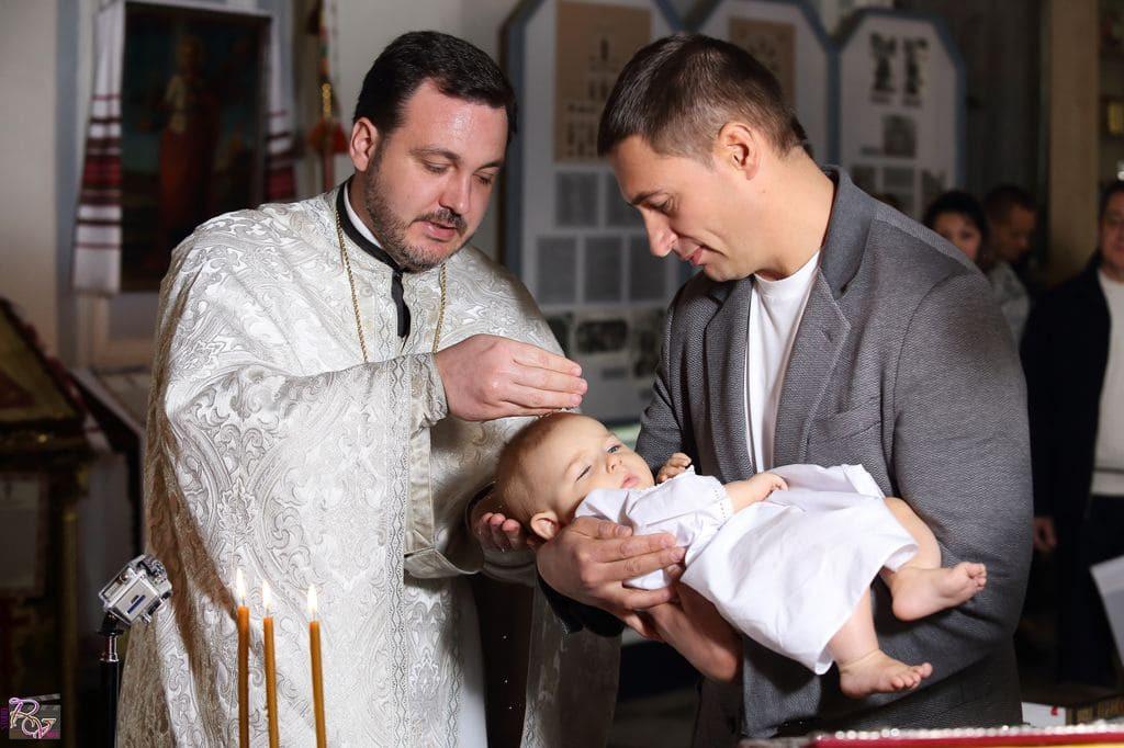 Видеосъемка крестин ребенка