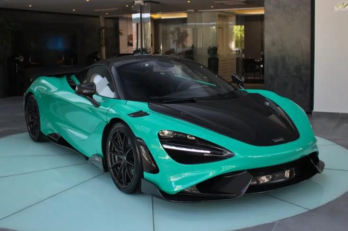 McLaren 765LT de R$ 5 milhões chega com todas as unidades vendidas