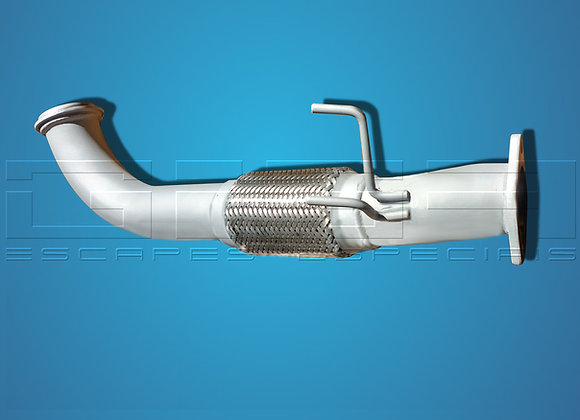 Down pipe Fusion turbo