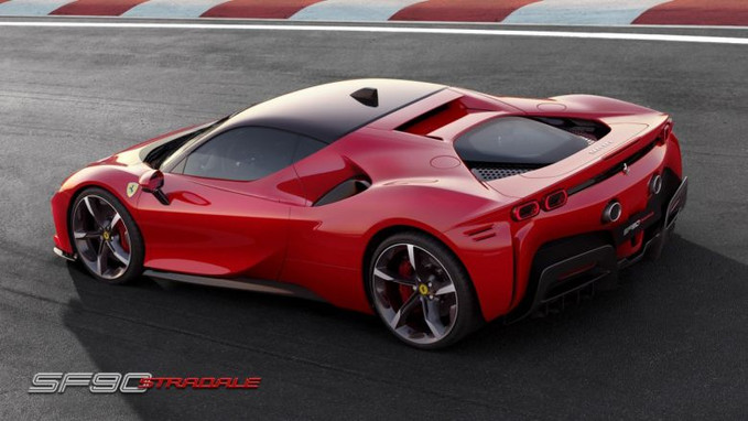 SF90 Stradale: o carro híbrido da Ferrari