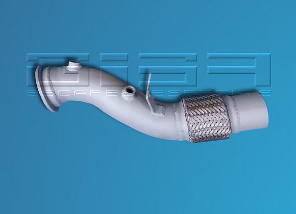 Down pipe sem minicat BMW 430i / 530i G30 2.0 turbo MOTOR B48