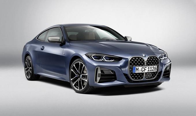 Novo BMW Série 4 Gran Coupé abre o bocão em projeção