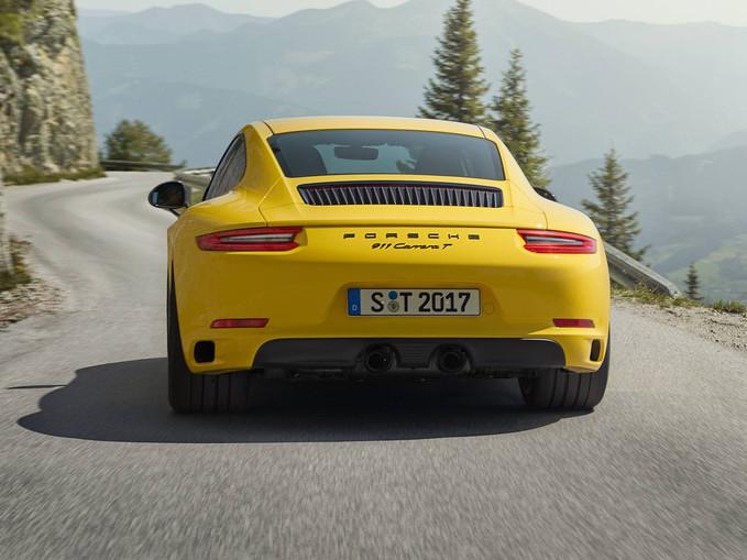 Porsche 911 T: nova versão mais leve chega ao Brasil em 2018