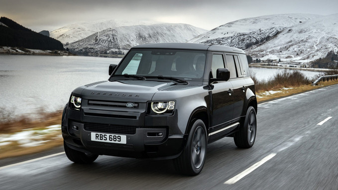Land Rover Defender ganha motor V8