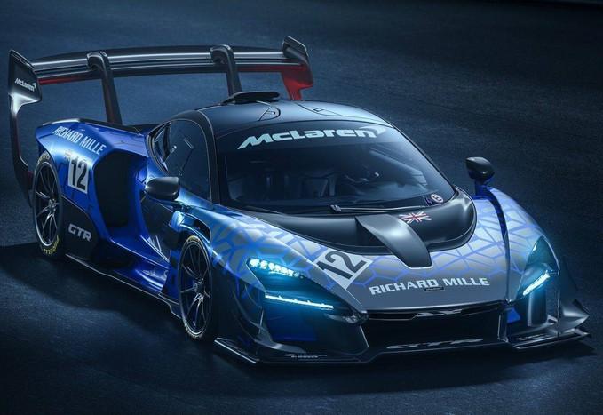 McLaren Senna GTR é tão íntimo das pistas quanto o tricampeão de F1