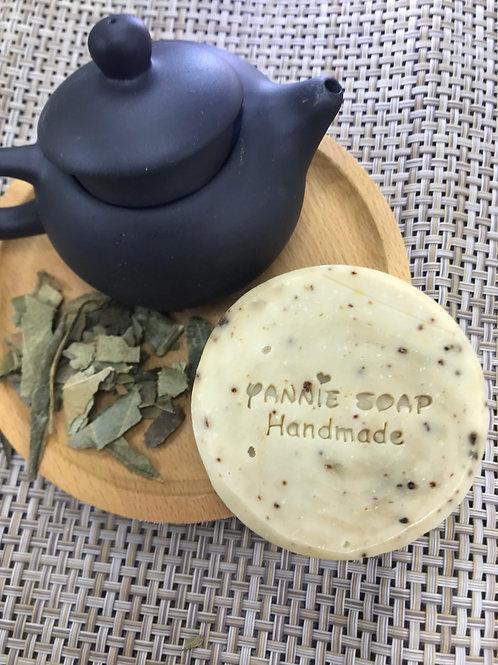 抗氧美白綠茶皂
