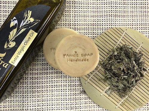 艾草橄欖皂