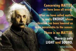 Albert Einstein matter