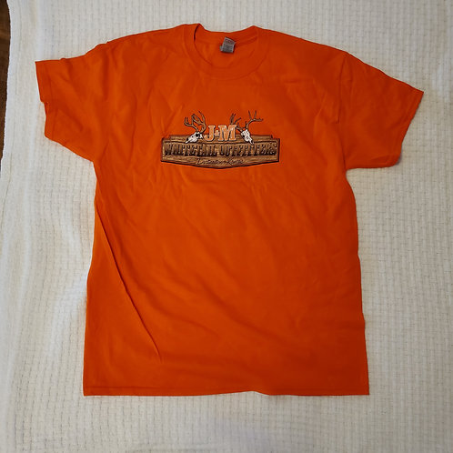 Short Sleeve Tee -Blaze Orange
