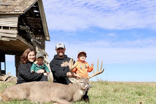 family with steve's deer.jpg