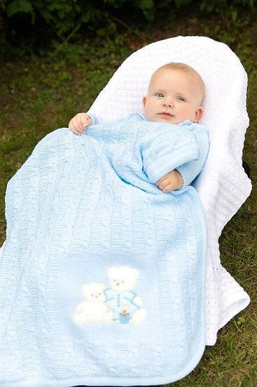 Dandelion Knitted Baby Blanket