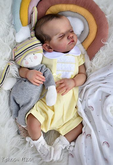 Dandelion Baby Girls Pique Romper