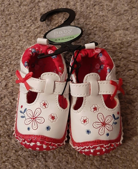 Baby Girls Shoes 6-9m