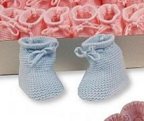Nursery Time - Knitted Booties