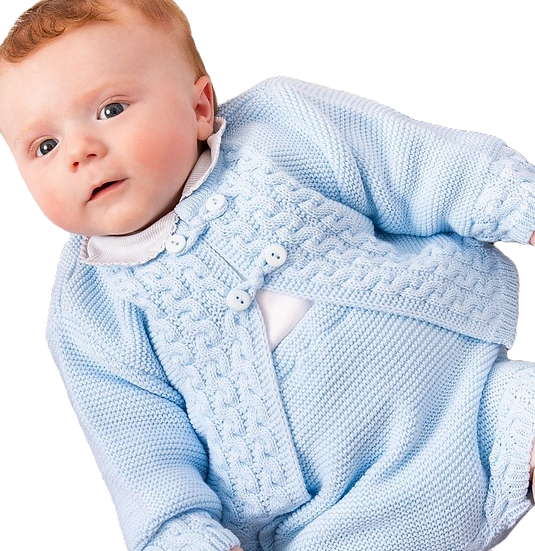 Dandelion Boys Knitted 2 pc Jacket & Shorts