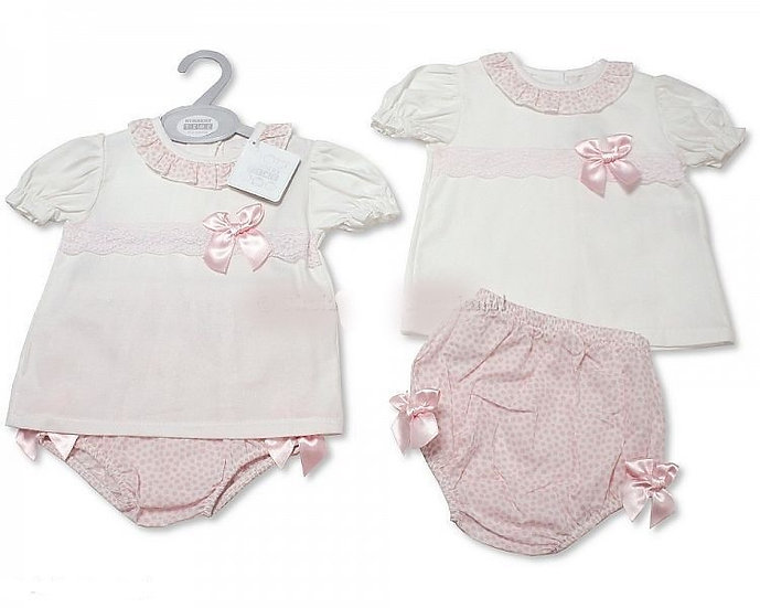 Nursery Time Girls Pretty 2 pc Set