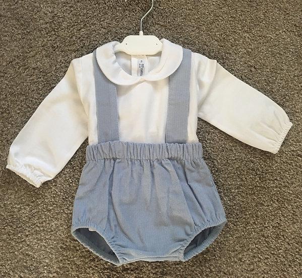 Calamaro 2 pc Corduroy Shorts & Shirt Set