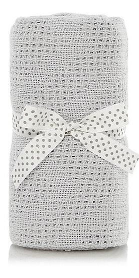 Cotton Cellular Pram Blankets - 3 Colours