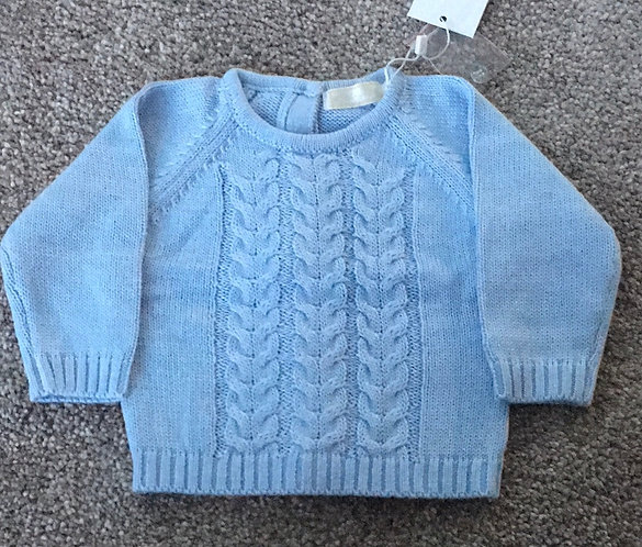 Babybol Soft Knitted Cable Design 2 pc Set