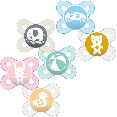 MAM Silicone Soothers 0+