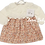 Thumbnail: My Little Chick Knitted/Woven Baby Girls Dress - Floral