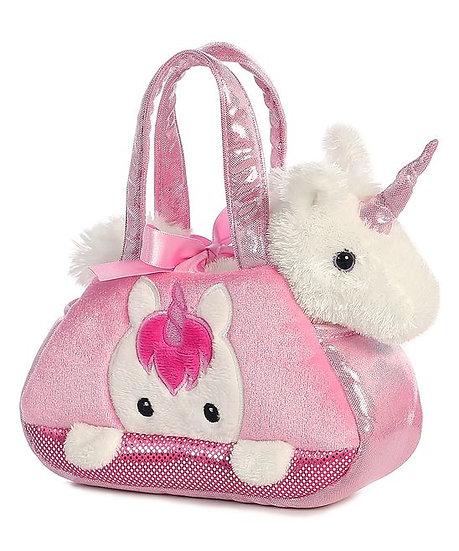 Peek a boo Unicorn Toy in Carrier